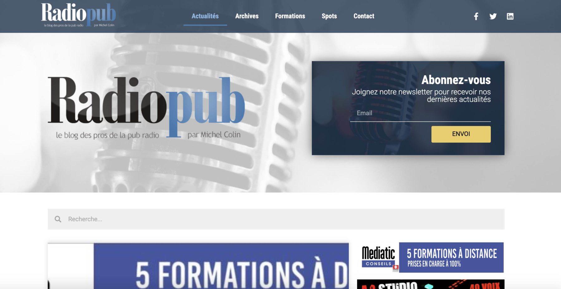 header radio pub